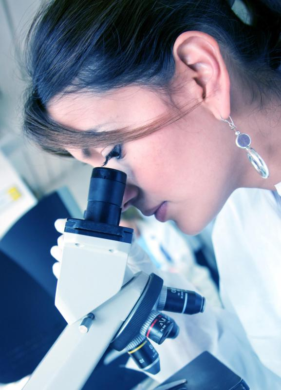 Forensic science requires careful analyses of secretions and cells.