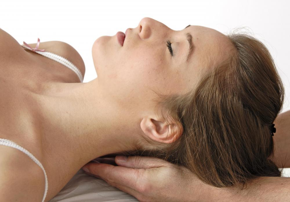A scalp massage may increase blood flow.
