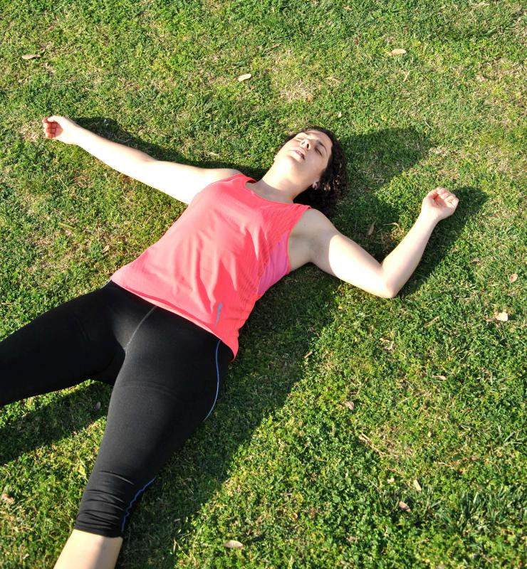 Over-exercising may lead to fatigue.