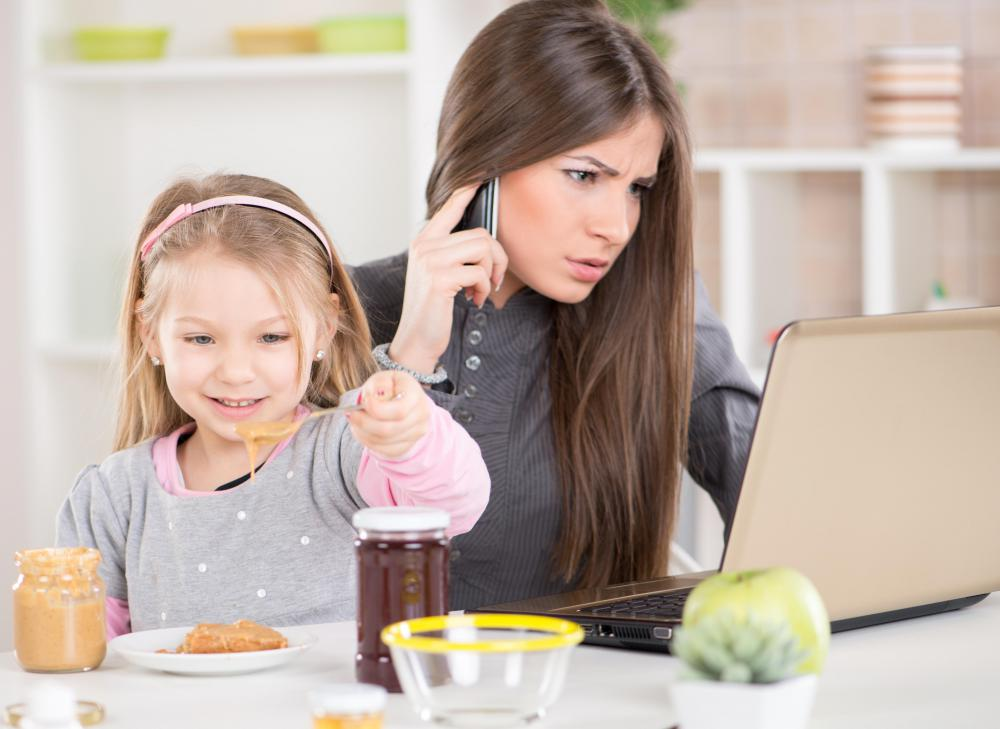 Simultaneously performing multiple activities, such as talking on the phone, surfing the internet and caring for a child, uses divided attention.