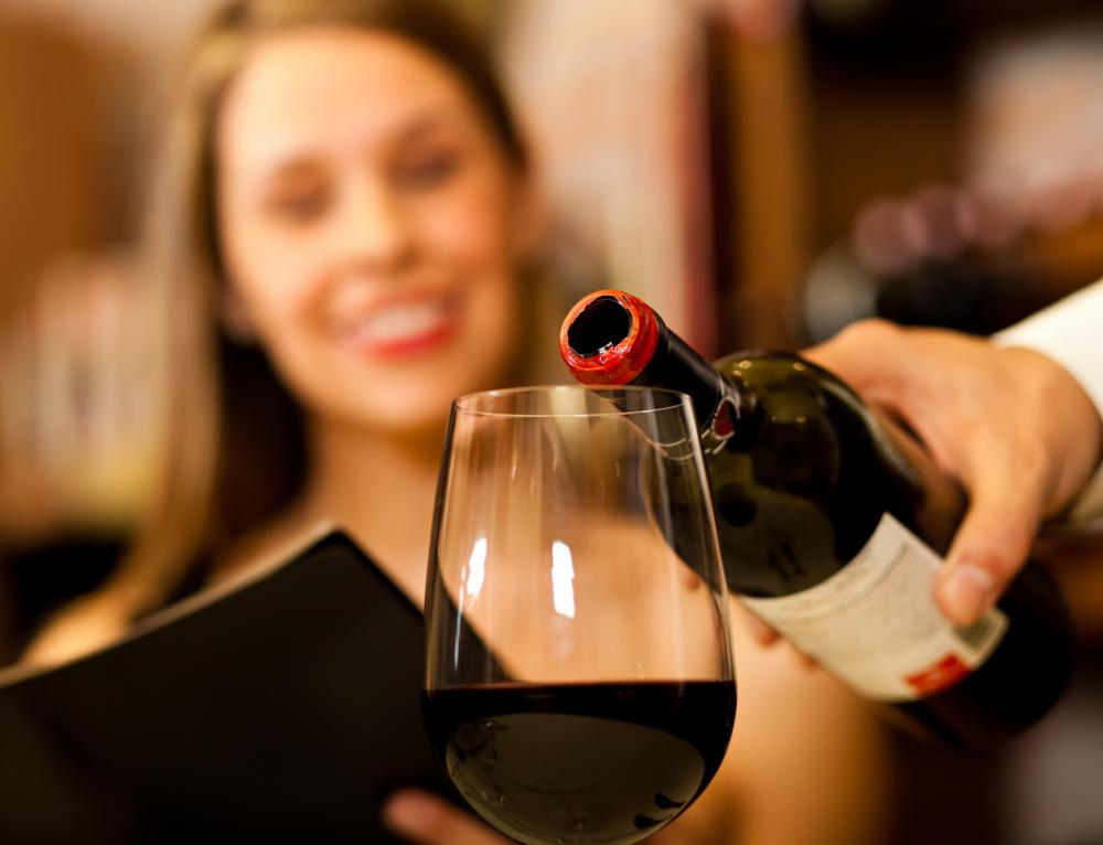 Consuming red wine may help increase the levels of good cholesterol in the blood.