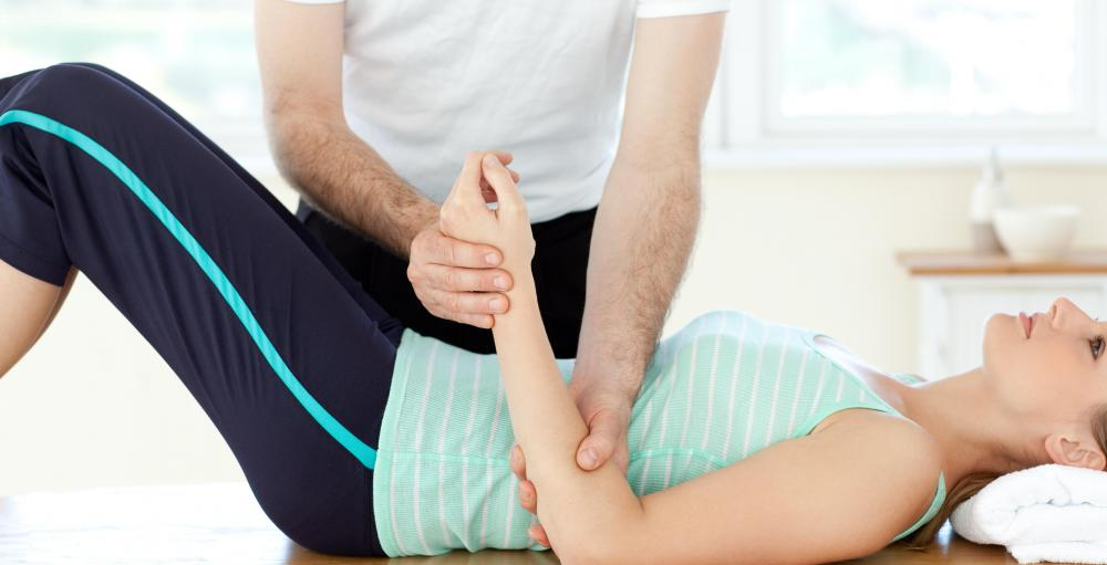Massages and other types of physical therapy may help treat a sore wrist.