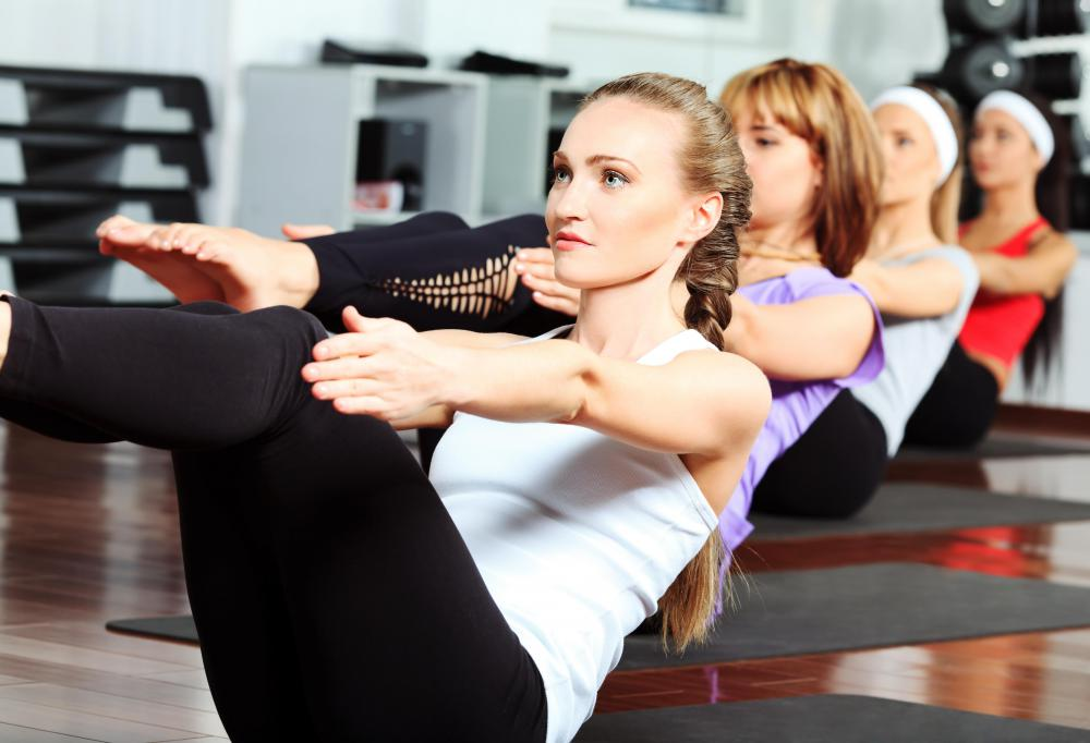 Many ab workouts require little equipment and are easy for women to do at home.