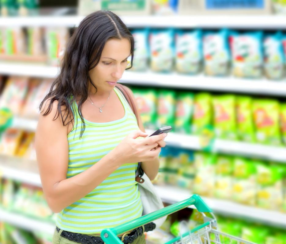 Budget-conscious food shoppers can download discount coupons on their smart phone while in the store.