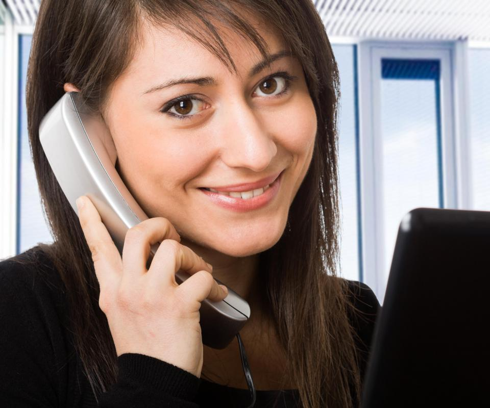 Virtual receptionists typically have office experience.