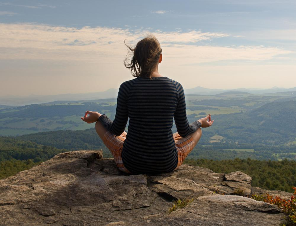 A little meditation can help relieve stress and lead to more energy.