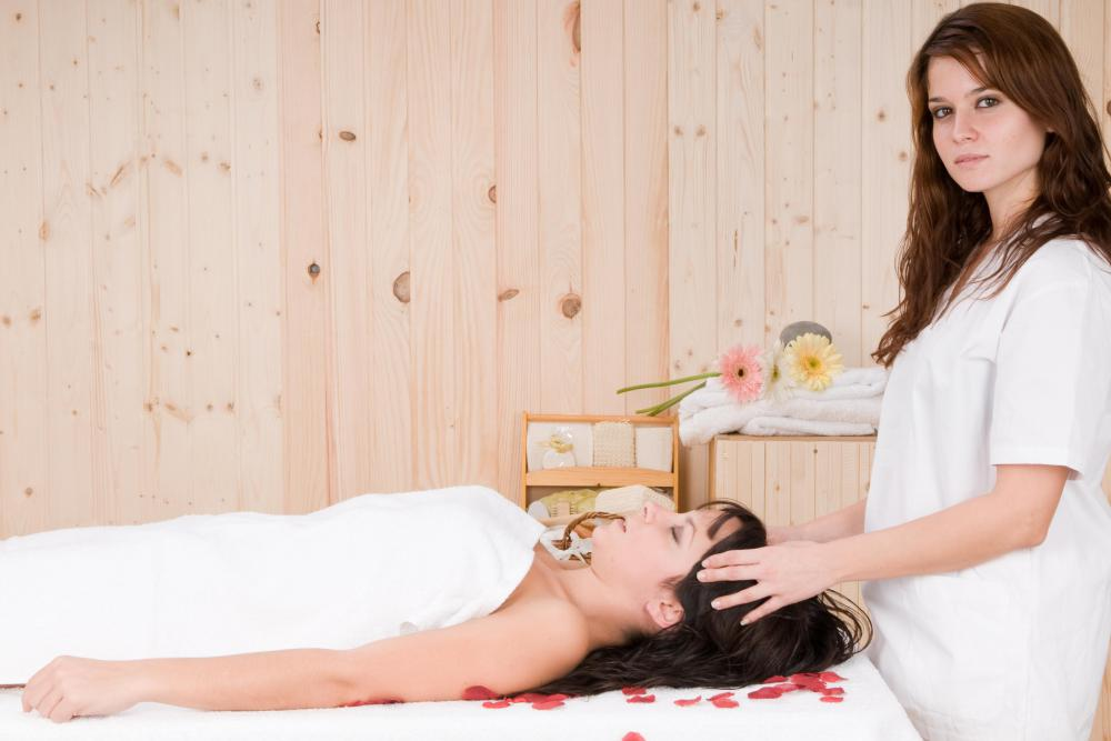 Massage therapists rely on specific pressure points during an amma massage.