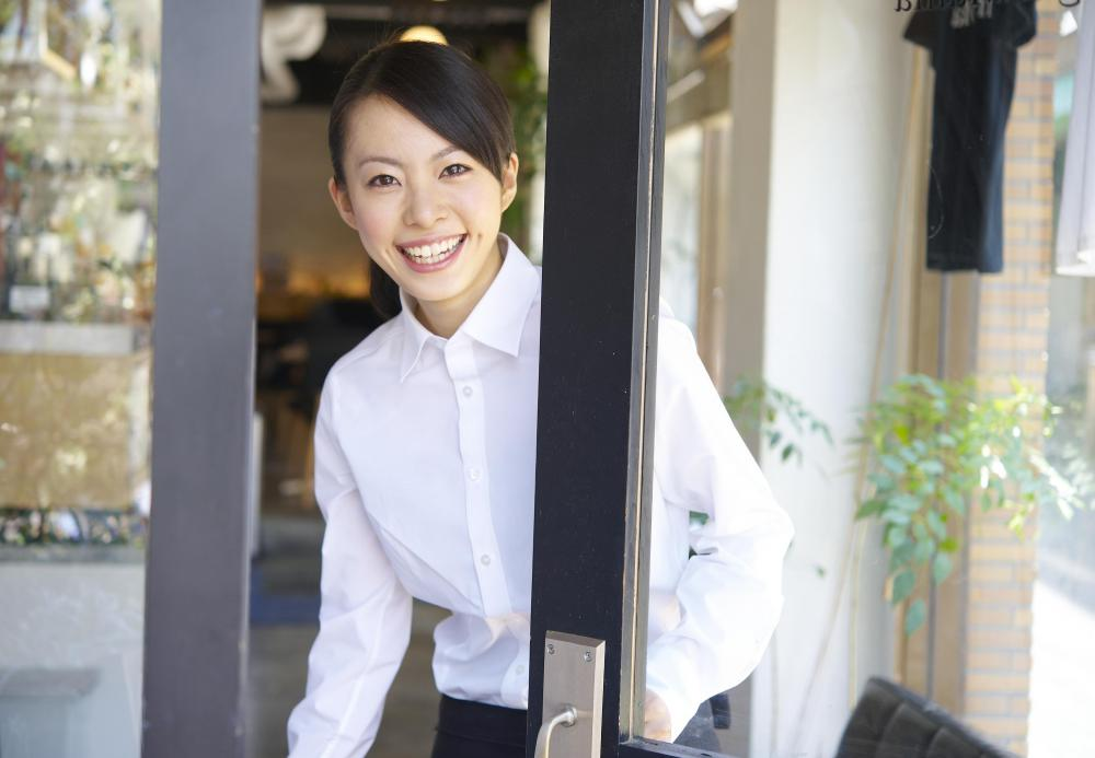 A teenager may get a summer job at a restaurant as a server or hostess..