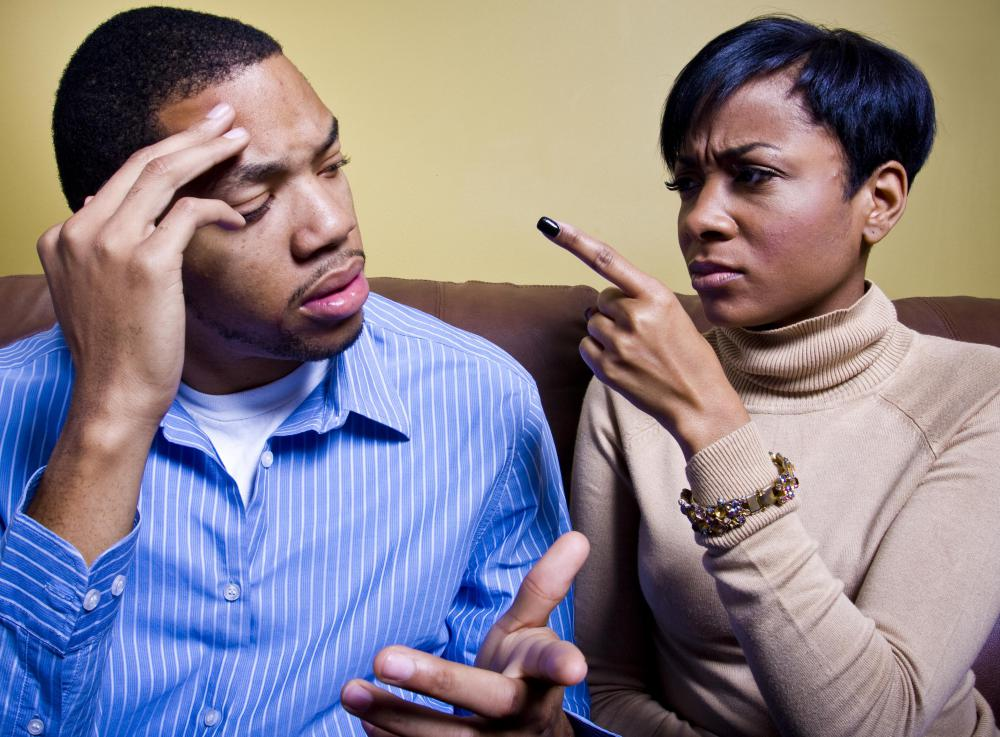 Couples have trouble with their relationship might benefit from counseling.