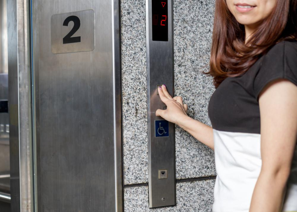 Problems with spatial perception may lead to feelings of claustrophobia, making a small space, like an elevator, seem smaller than it actually is.