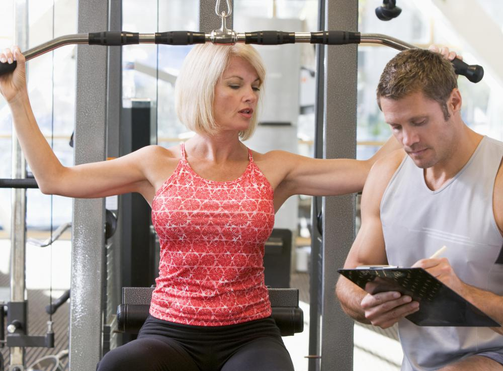 Personal trainers have different philosophies, so it's best to pick one that shares in your philosophies.