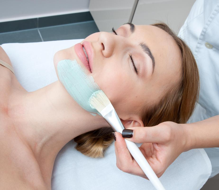 Some salons may offer skincare services like facials.