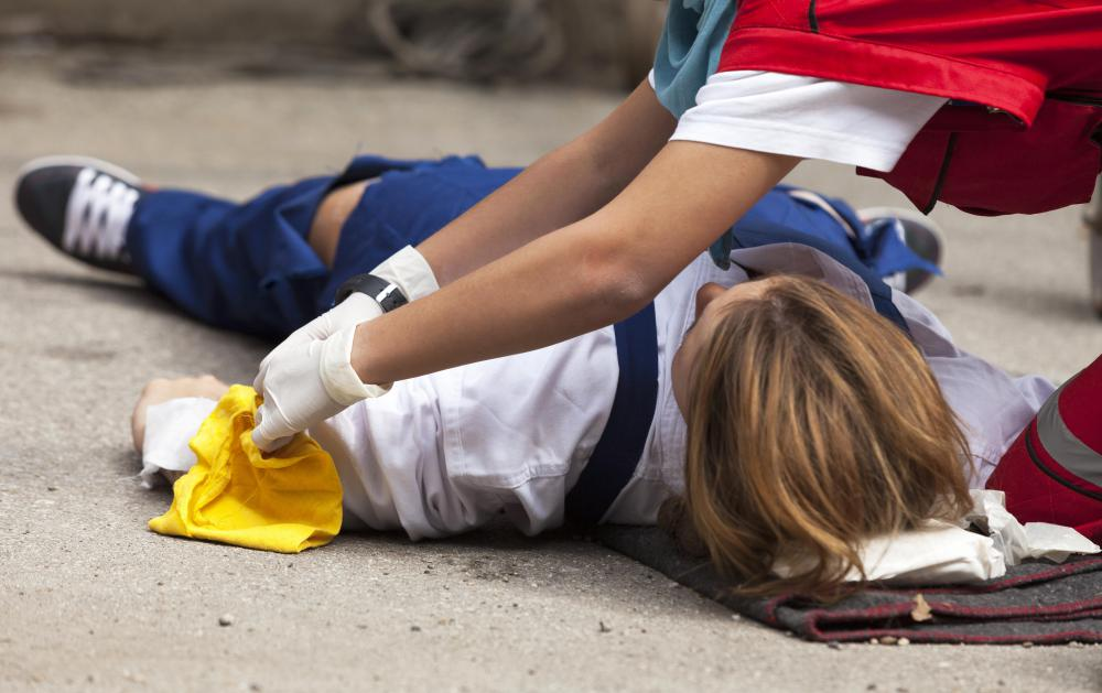 Emergency care assistants and other first responders may be required to participate in regular drills where they apply their training to a simulated situation.