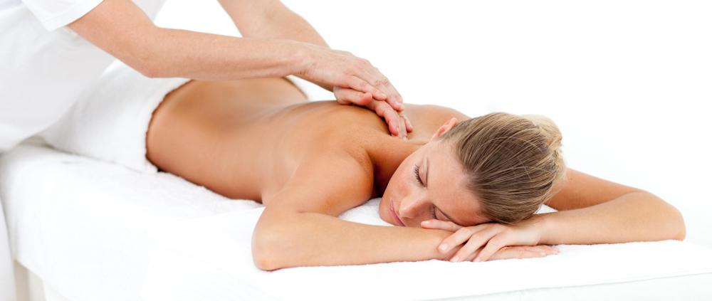 A salon might offer various types of massages.
