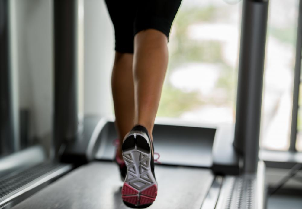 30 minutes a day on a treadmill is a good way to begin a fitness program.