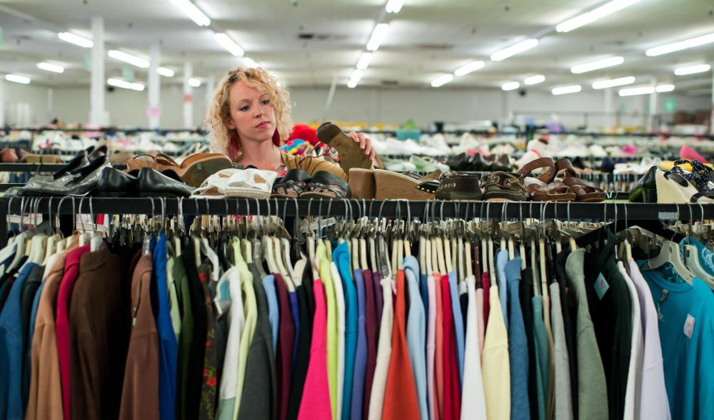 Thrift shops sell previously-used items at a considerable markdown from their original price.