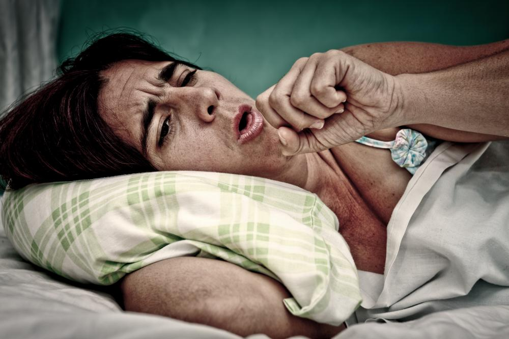 Individuals with pneumonia often experience difficulty breathing.
