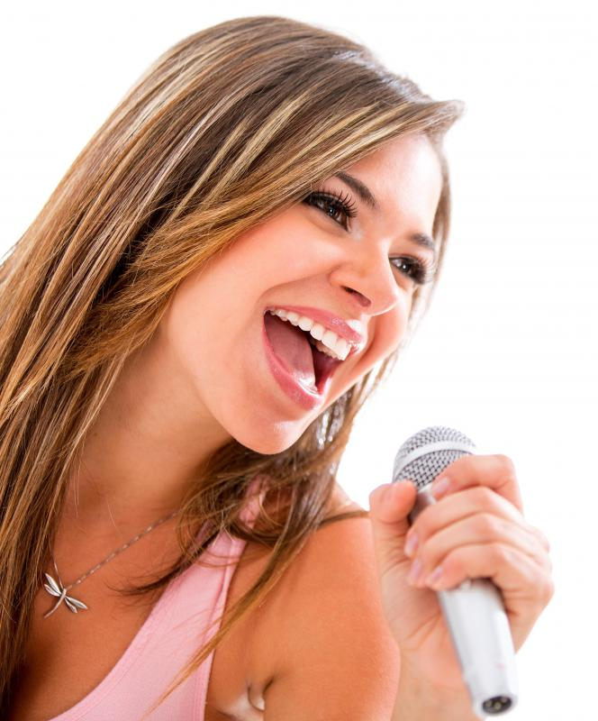 Karaoke singing is very popular in the United States and Asia.