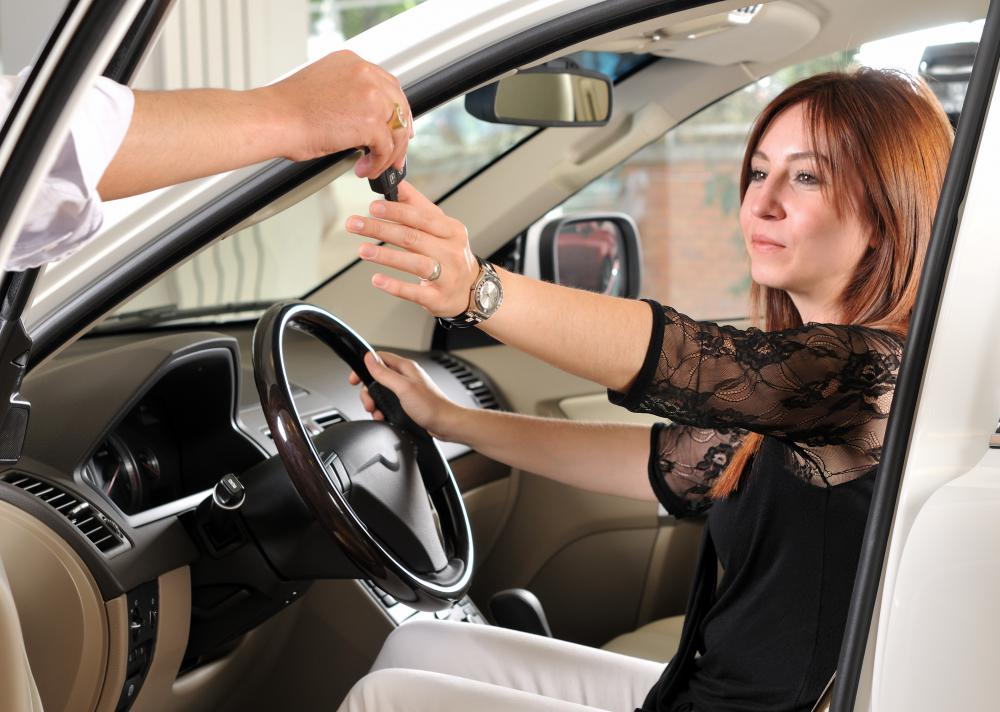 The terms of a car lease depend greatly upon an individual's credit.