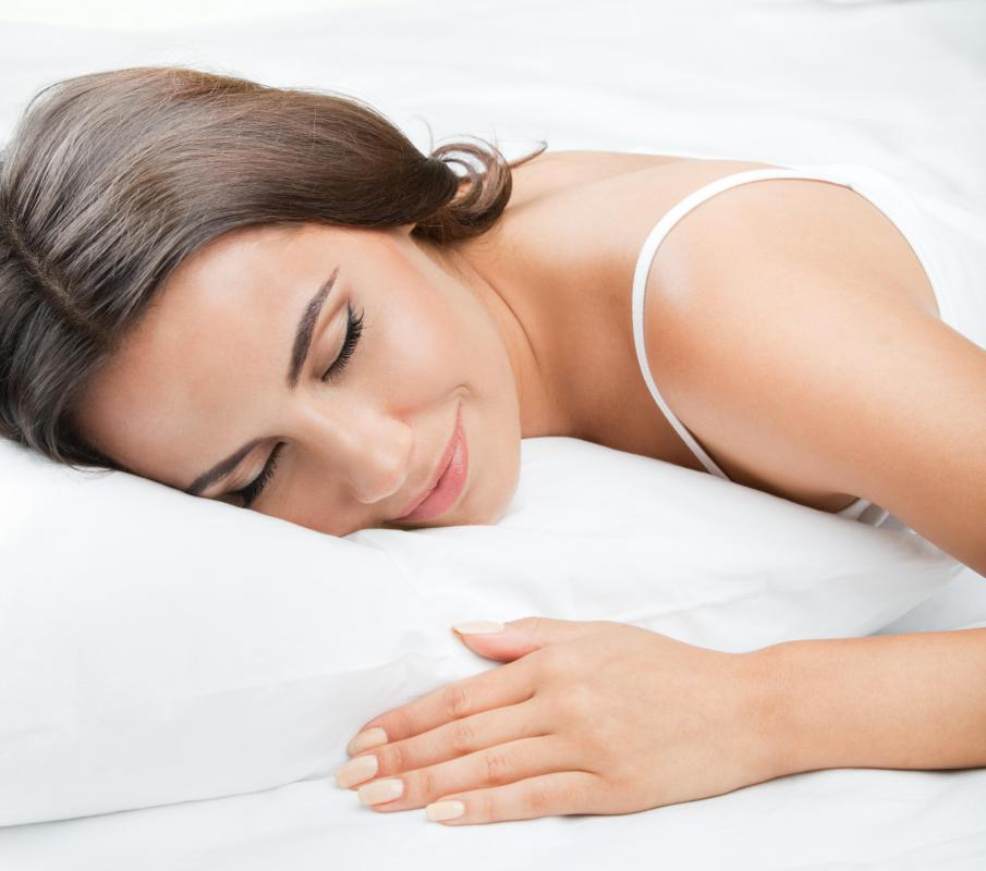 "A person who has had a good night's sleep may be described as being ""bright-eyed and bushy-tailed."""