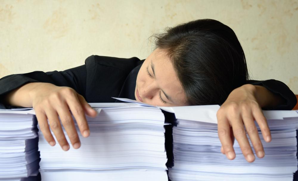 Employees suffering from work-related burnout may be allowed to take a leave of absence.