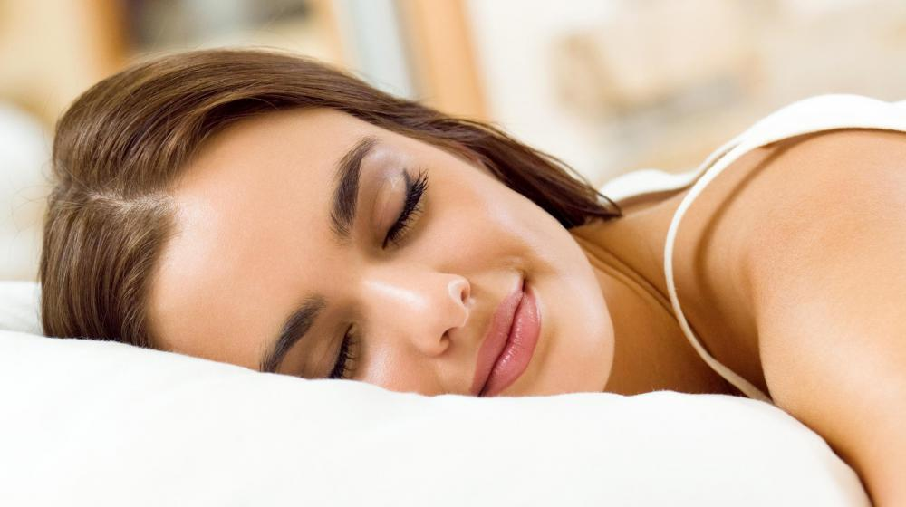 The release of saliva from the submandibular glands prevents the mouth from drying out during sleep.