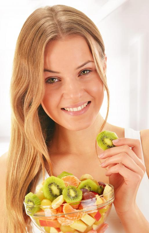 In addition to taking potassium supplements, consume kiwis and other foods that are rich in potassium.
