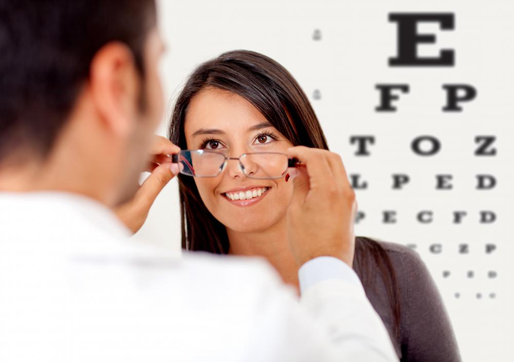 Patients suffering from lower-order aberrations may be prescribed corrective lenses.