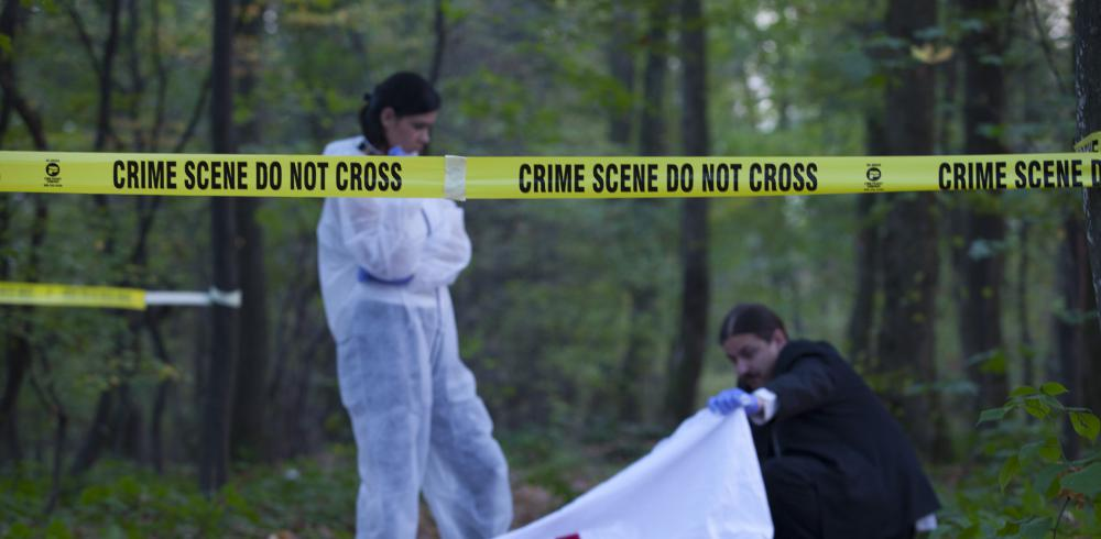 A crime technician must take steps to ensure that a crime scene is undisturbed during evidence collection.