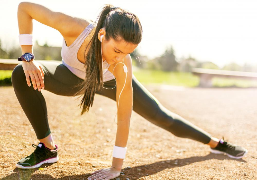 All exercises should begin and end with stretching routines.