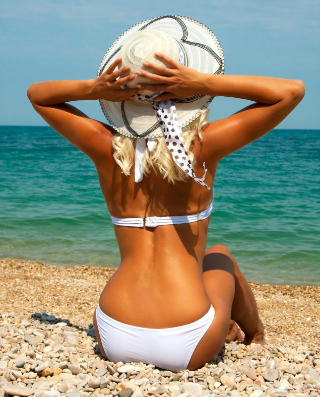 By spending 30 minutes in the sun, a person's body can make the equivalent of 10,000 international units of vitamin D.