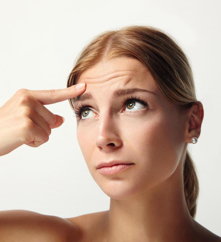 Botox can be an effective method for eliminating forehead wrinkles.