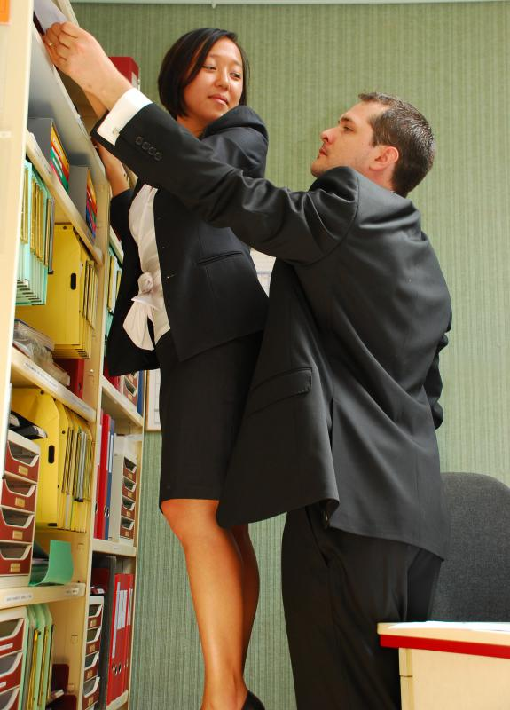 Many places have strict laws against workplace harassment.