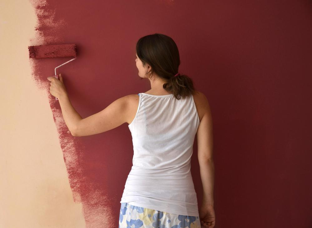 The inhalation of fumes is something to consider when painting a basement, as most are not well ventilated.