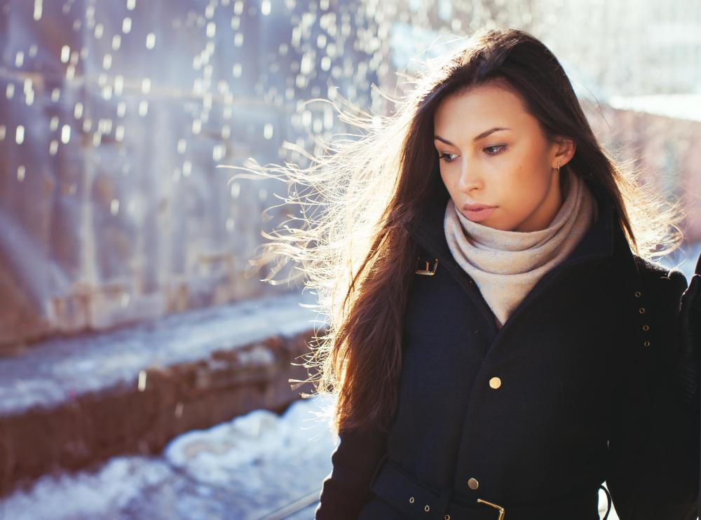 Many people experience seasonal affective disorder (SAD) during the dark winter months.