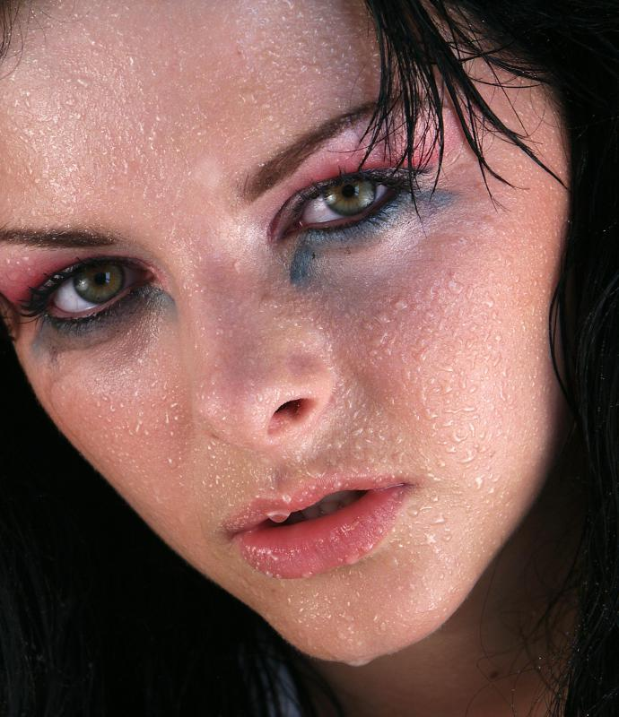 Failing to wear waterproof mascara when it rains – or when sweating or crying – can cause the makeup to run and smudge.