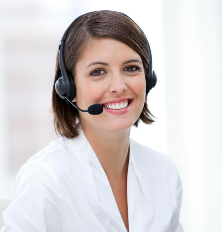 The contact between a company and its customers mainly takes place through a customer service center.