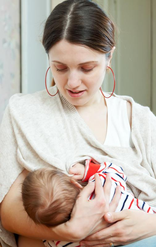 Breastfeeding women can sometimes develop high levels of PTH.
