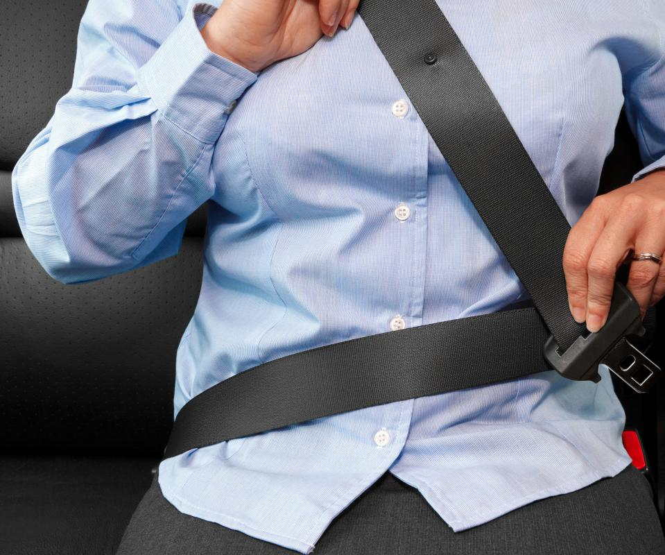 Wearing a seatbelt is a safety measure that can prepare someone for a car accident.