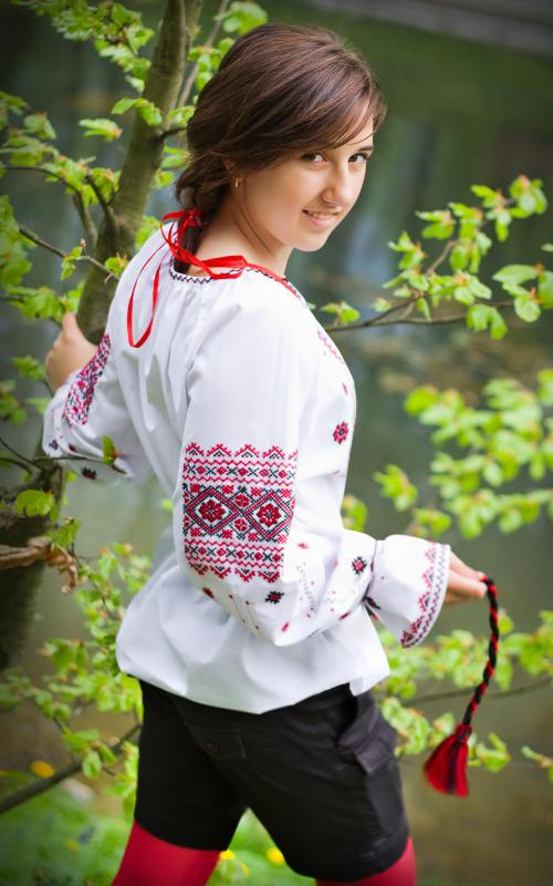 While Ukrainian is the official language of the Ukraine, over 70 percent of the population is fluent in Russian.