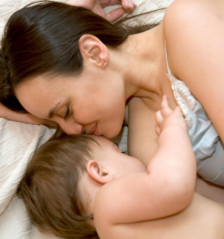 In addition to providing nutrition, breastfeeding allows new mothers to form close bonds with their babies.