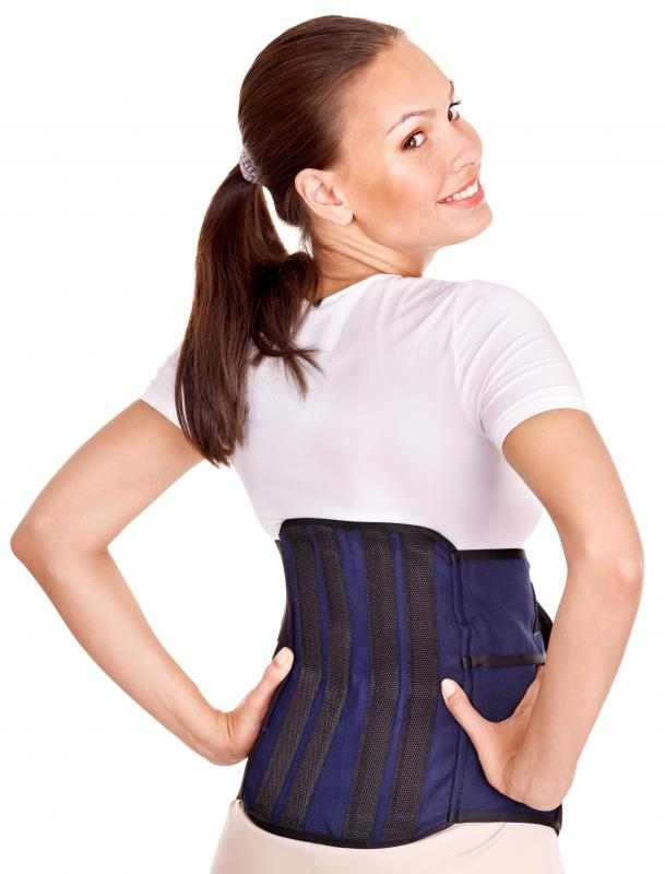 Back braces may help treat moderate scoliosis.