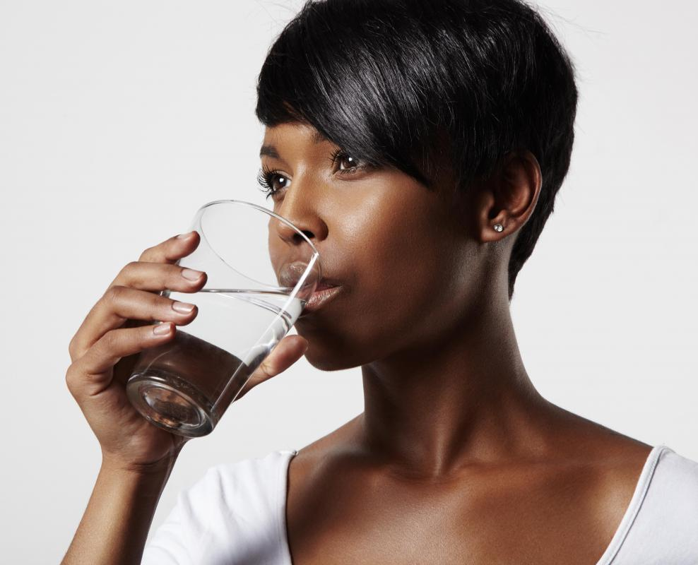 Water intoxication occurs when individuals drink large amounts of water very rapidly.