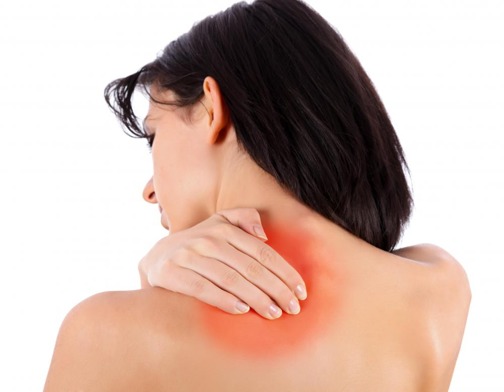 Massage therapy may be used to help soothe shoulder pain.