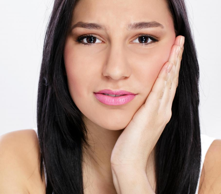 Facial swelling is a common side effect of a Thermage face lift.