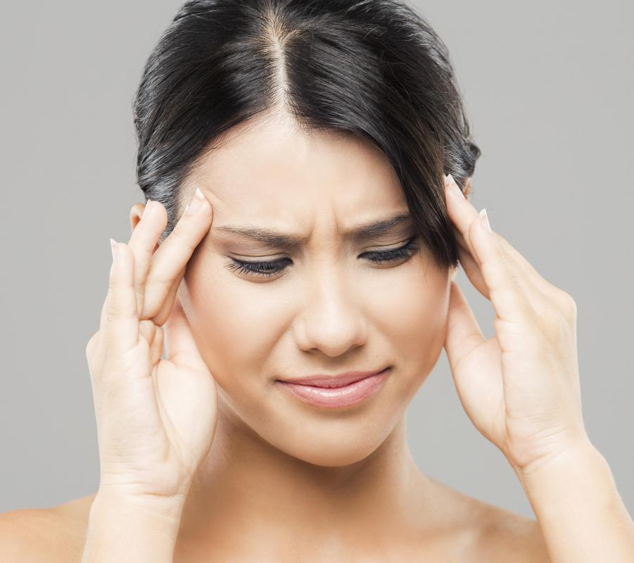 The progesterone issued along with IVF may cause headaches.