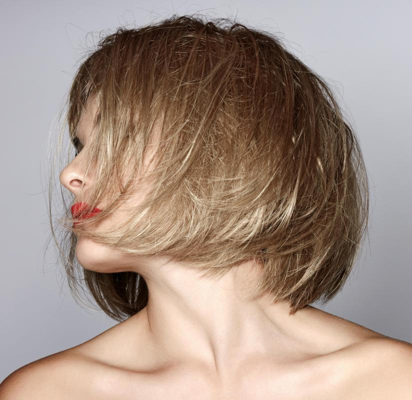 Most bobs are generally intended for straight hair.