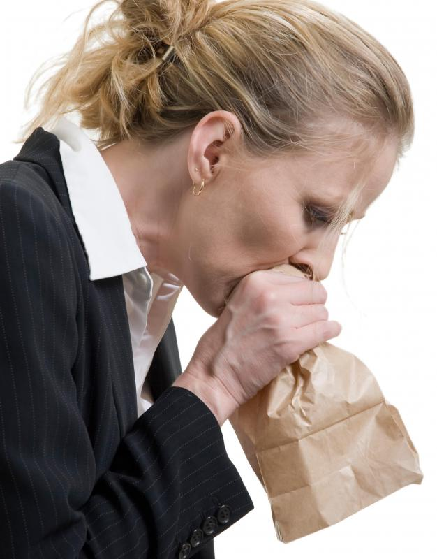 Hyperventilation is sometimes treated by breathing into a paper bag, which helps increase carbon dioxide levels.