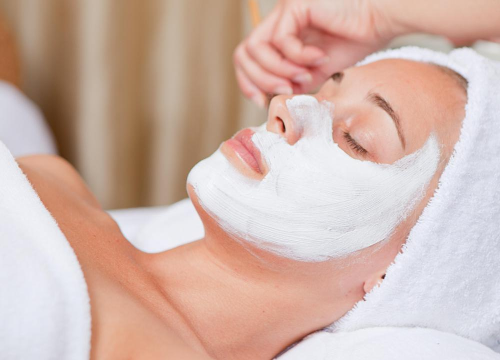 A customized masque is part of the European facial experience.