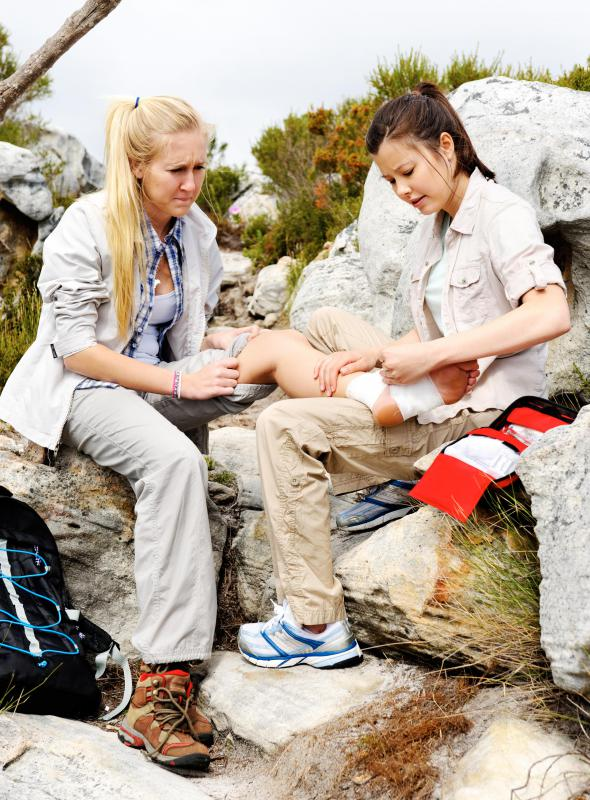 The buddy system is used in many outdoor activities, and ensures there is help in the event of an injury.